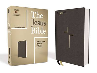 Picture of The Jesus Bible, ESV Edition, Cloth Over Board, Grey