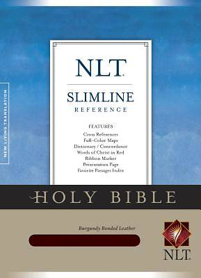 Slimline Reference Bible-NLT with CDROM