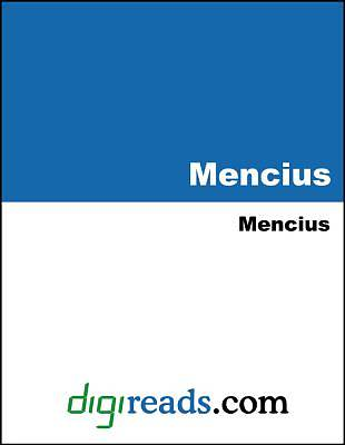 Mencius [Adobe Ebook]