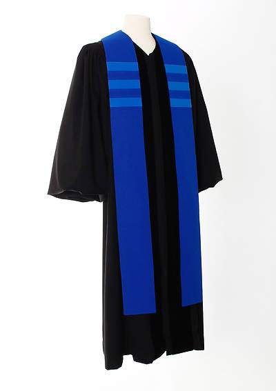 Picture of Trinity Stripe Stole - Blue