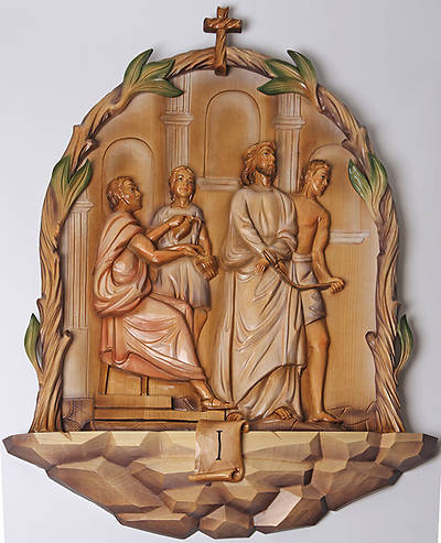 Picture of Koleys K788 Hand Carved Baroque Style Stations of the Cross Set