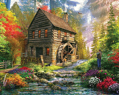 Picture of Mill Cottage Jigsaw Puzzle