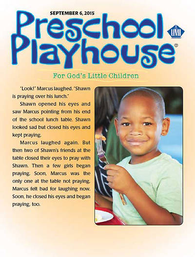 Picture of UMI Preschool Playhouse Student Fall 2015