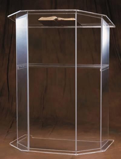 Woerner 3350S Acrylic Pulpit