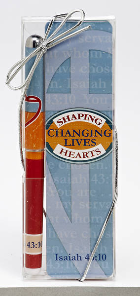 Shaping Hearts, Changing Lives Pen & Bookmark Gift Set