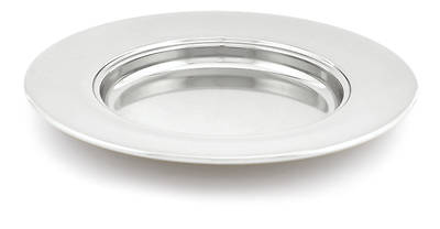 SILVERPLATE NON-STACKING BREAD PLATE