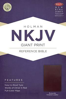 NKJV Giant Print Reference Bible