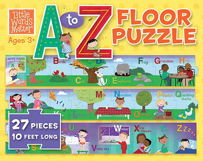 Picture of Little Words Matter A to Z Floor Puzzle