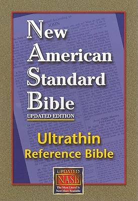 Picture of Ultrathin Reference Bible-NASB