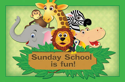Sunday School is Fun-Zoo