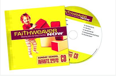 Picture of FaithWeaver Now Infants, Toddlers-Twos CD Winter 2020-2021
