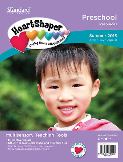 Standards HeartShaper Preschool Resources: Summer 2013