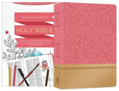 Picture of Personal Reflections KJV Bible [Rosegold Bloom]
