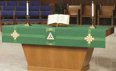 Picture of Abbott Hall Kingdom Cross NAF2358 Altar Frontal
