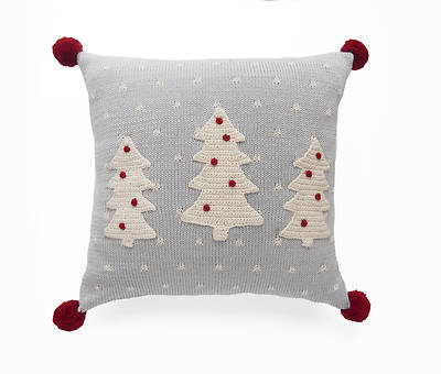 Pillow With Christmas Trees