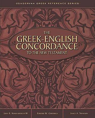 The Greek English Concordance to the New Testament