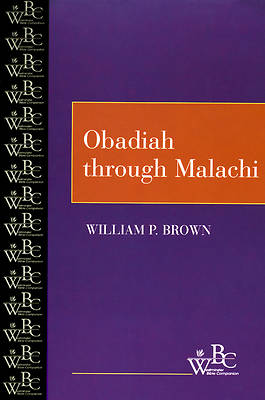 Westminster Bible Companion - Obadiah Through Malachi