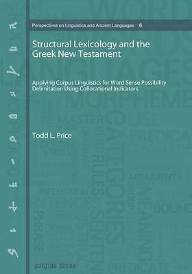 Picture of Structural Lexicology and the Greek New Testament (paperback)