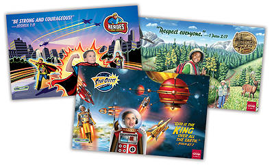 Picture of Living Inside Out Poster Pack: Star Quest, Wilderness Trail and Heroes Fall 2015