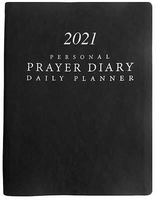 Picture of 2021 Personal Prayer Diary and Daily Planner - Black (Smooth)