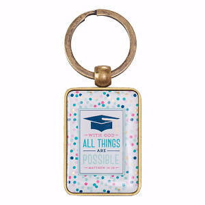Picture of Keyring in Tin All Things Are Possible