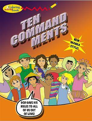 Ten Commandments Coloring & Activity Book