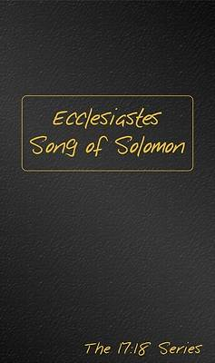 Picture of The Book of Ecclesiastes and Song of Solomon Journible