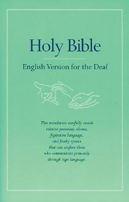 Bible English Version For The Deaf