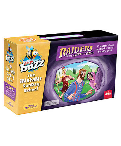 Buzz Grades 5&6 Raiders of the Empty Tomb Kit Spring 2018
