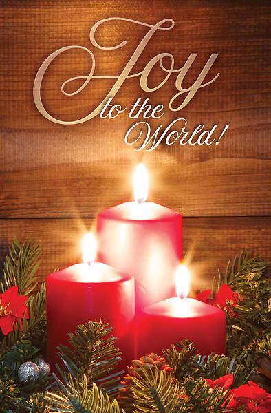 Picture of Joy to the World Christmas Regular Size Bulletin