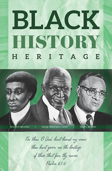Picture of Heard My Vows Black History Heritage Regular Size Bulletin
