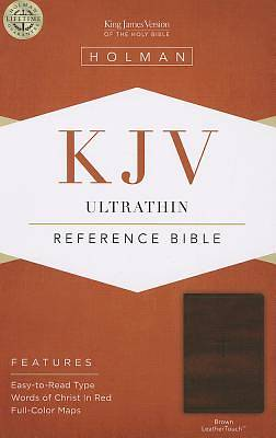 Picture of Ultrathin Reference Bible-KJV