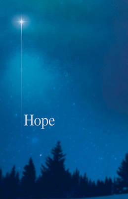 Hope Star Advent Bulletin (Pkg of 50)
