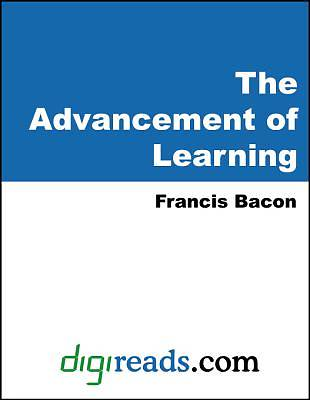Picture of The Advancement of Learning [Adobe Ebook]
