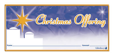 Christmas Offering Envelope (Package of 100)