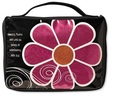 Mod Flower Sparkle Pink Medium