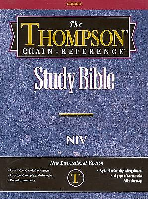 Bible-NIV Thompson Chain Reference