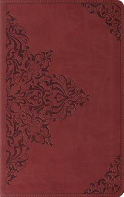 Thinline Bible-ESV-Filigree Design