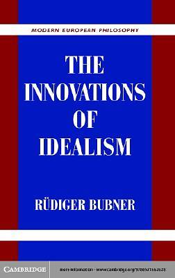 The Innovations of Idealism [Adobe Ebook]