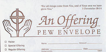 Picture of (An Offering) Offering Envelope Small (package of 500)