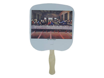 Picture of Last Supper Hand Fan - Pack of 50