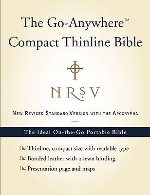 New Revised Standard Version Go-Anywhere Compact Bible with Apocrypha