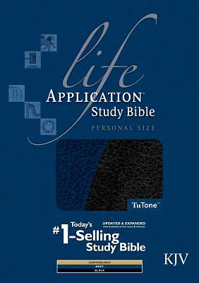 Life Application Study Bible-KJV-Personal Size with CDROM