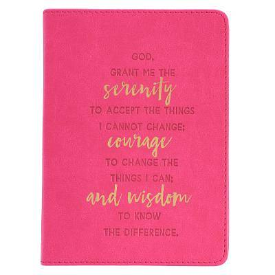 Picture of Serenity Prayer Handy Lux-Leather Journal