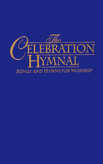 Celebration Hymnal Pew Standard Edition Light Blue