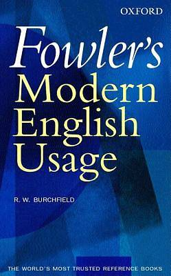 Fowlers Modern English Usage
