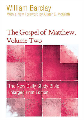 Picture of The Gospel of Matthew, Volume Two - Enlarged Print Edition