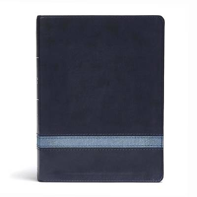 CSB Apologetics Study Bible, Navy Leathertouch