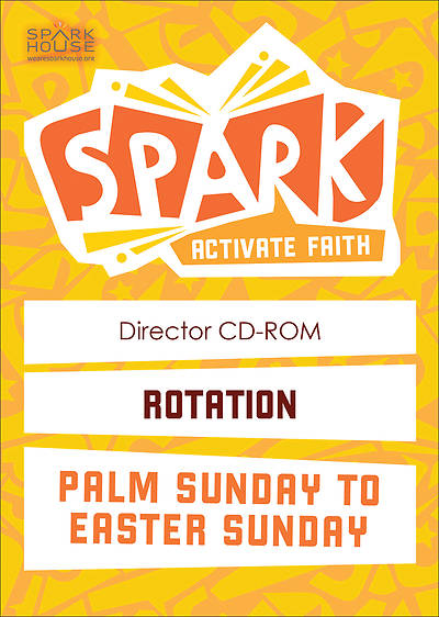 Picture of Spark Rotation Palm Sunday To Easter Sunday Director CD