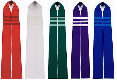 Picture of Trinity Stripe Stole - Set of 5